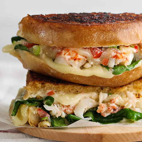 Grilled Cheese Lobster Sandwich